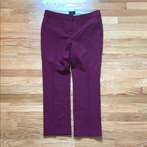 J Crew Campbell crop pants, size 4